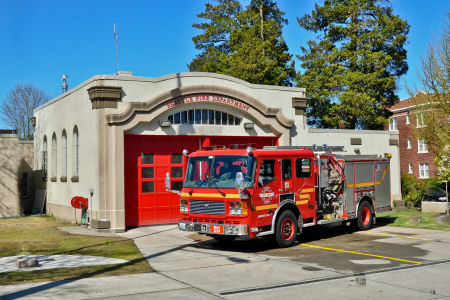 Fire Station number 13 in Jefferson Park beacon hill Seattle