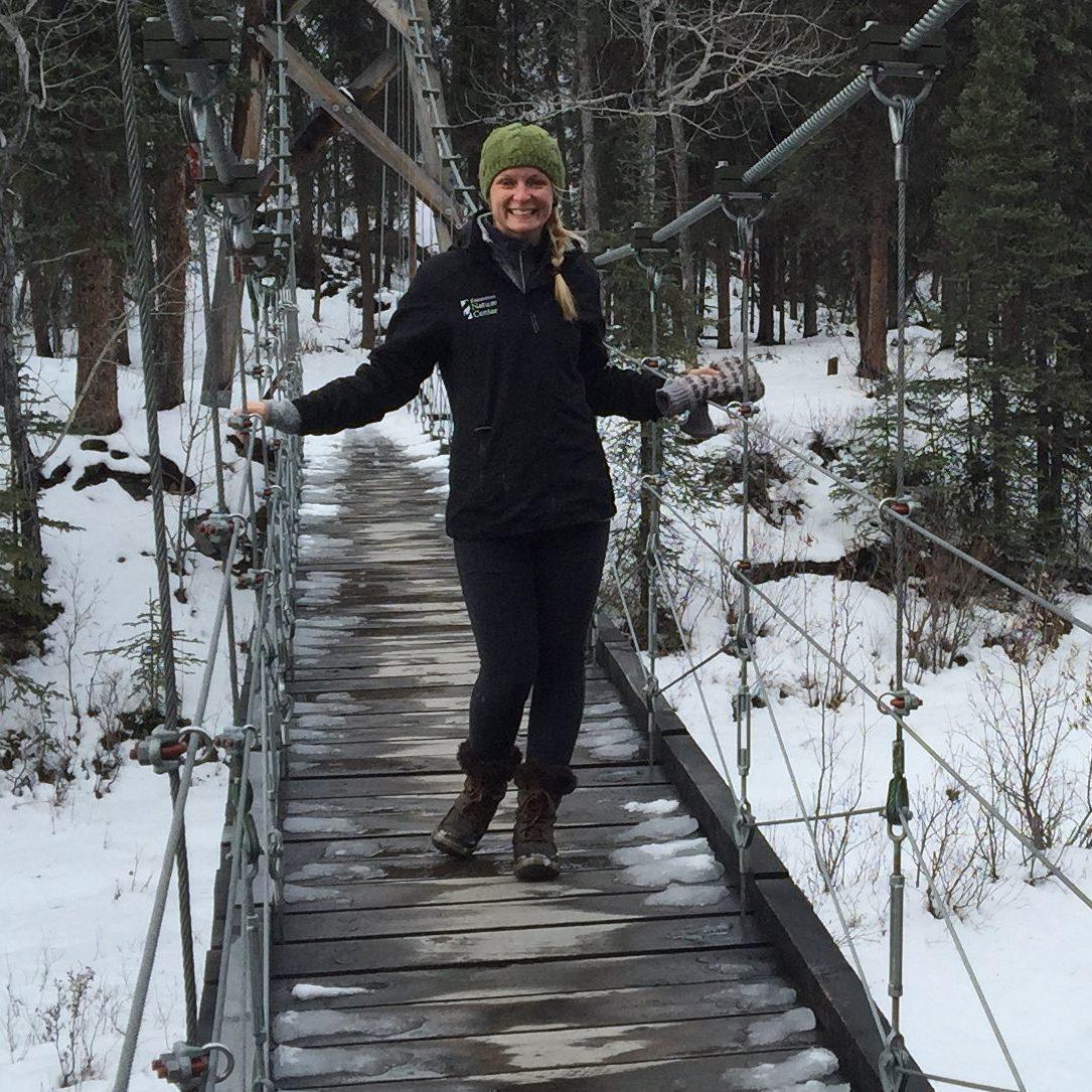 Katherine Miller On Bridge