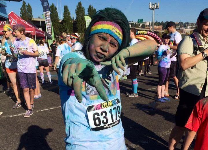 Maryyah pic Color Run