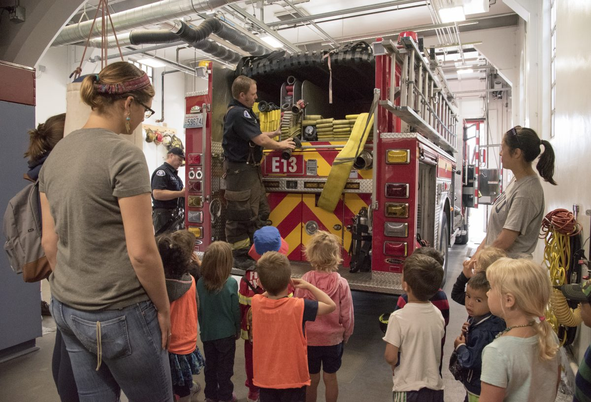 visit to the fire station essay